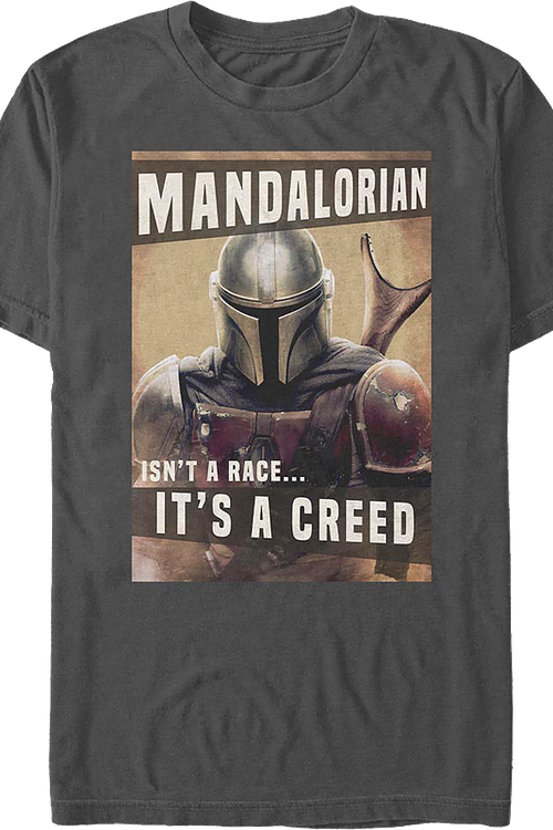 It's A Creed The Mandalorian Star Wars T-Shirt