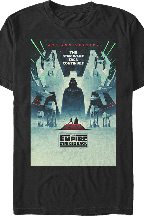 The Empire Strikes Back 40th Anniversary Star Wars T-Shirt