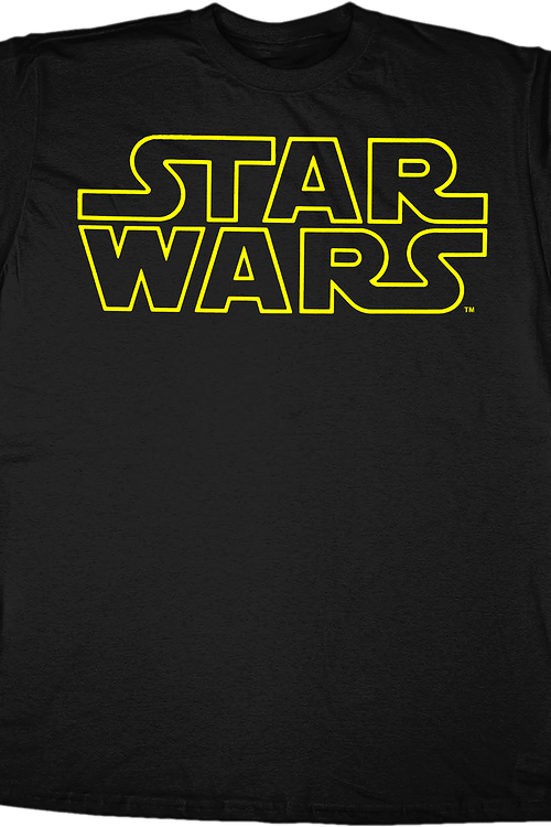 02b243ac Star Wars Logo T-Shirt: 80s Movies Star Wars T-shirt