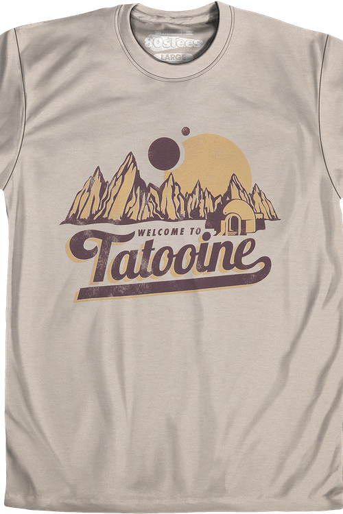 Sand Welcome To Tatooine Shirt