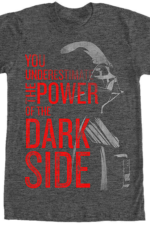 underestimate the power of the dark side
