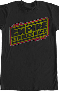 The Empire Strikes Back Logo Shirt