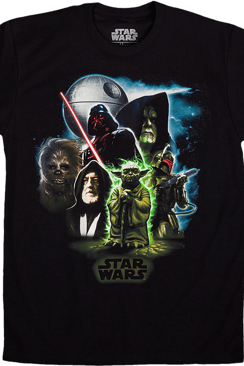 b8d54c555 Universe Star Wars T-Shirt: 80s Movies: Mens Star Wars Shirts