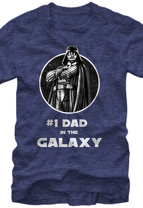 47b5b2bf3830b2  1 Dad in the Galaxy Star Wars T-Shirt