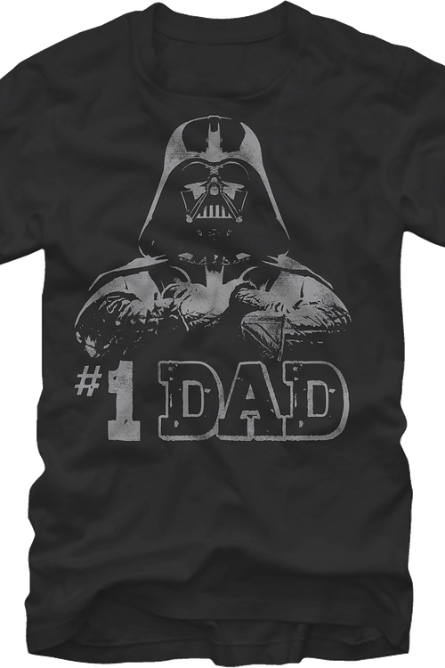 Darth Vader #1 Dad T-Shirt
