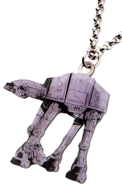 Star Wars AT-AT Cut Out Pendant