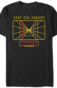 Star Wars Stay On Target T-Shirt