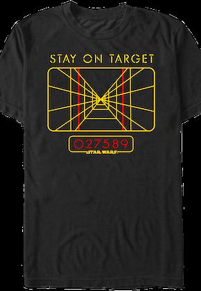 ac2643b6916ec Star Wars Stay On Target T-Shirt