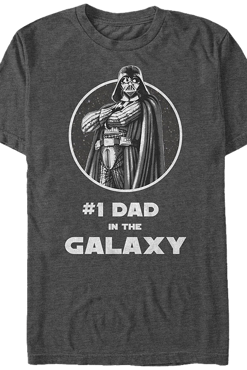 Father's Day Darth Vader Star Wars T-Shirt
