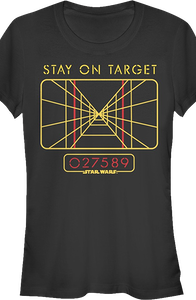 Junior Star Wars Stay On Target Shirt