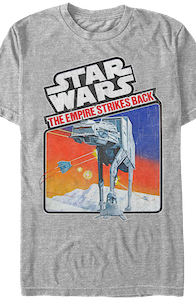 The Empire Strikes Back Video Game T-Shirt