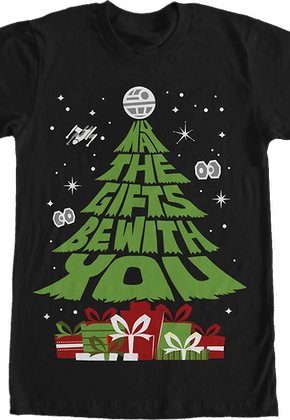 Star Wars May The Gifts Be With You T-Shirt