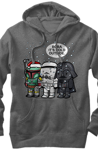 Star Wars Boba Fett Its Cold Outside Hoodie