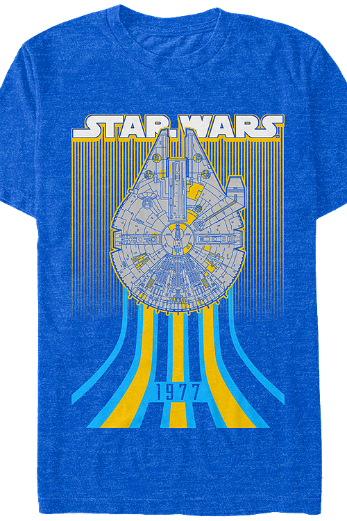 Millennium Falcon 1977 Star Wars T-Shirt
