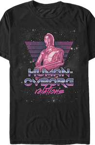 Star Wars Human Cyborg Relations T-Shirt
