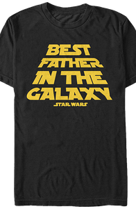 Best Father In The Galaxy Star Wars T-Shirt