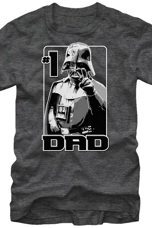 Darth Vader #1 Dad Star Wars T-Shirt