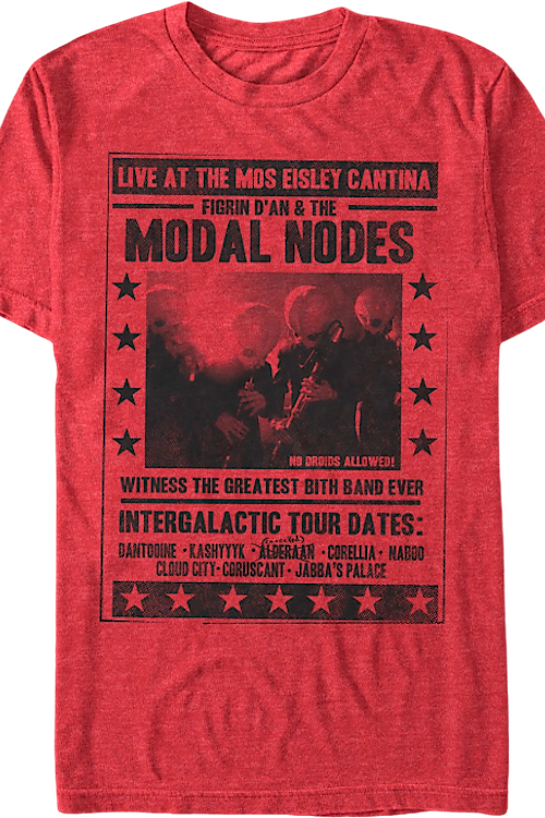 Figrin D'an and the Modal Nodes Star Wars T-Shirt