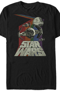 Retro TIE Fighter Star Wars T-Shirt