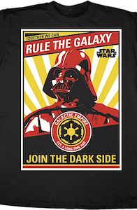 Darth Vader Rule the Galaxy Star Wars T-Shirt