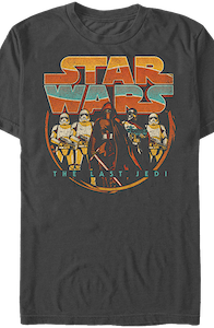 Retro Star Wars The Last Jedi T-Shirt