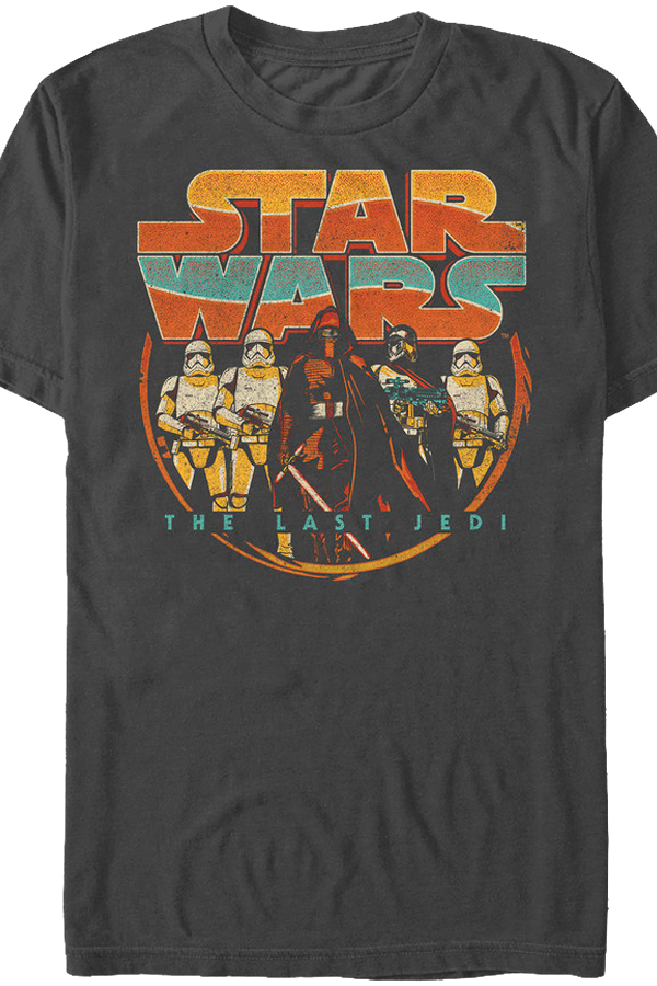 Retro star wars the last jedi t shirt star wars mens t shirt for Vintage star wars t shirts men
