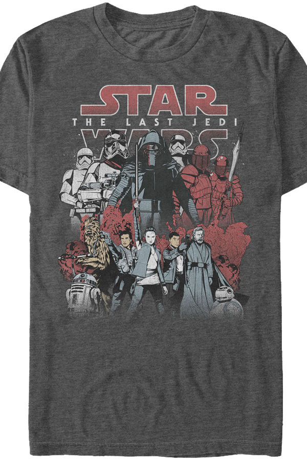 Good and Evil Star Wars The Last Jedi T-Shirt