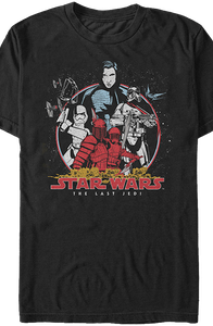 Bad Guys Star Wars The Last Jedi T-Shirt