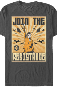 Join The Resistance Star Wars The Last Jedi T-Shirt