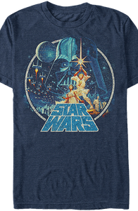 Star Wars A New Hope Poster Art T-Shirt
