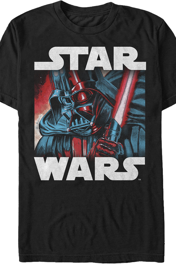Star Wars Artistic Darth Vader T-Shirt