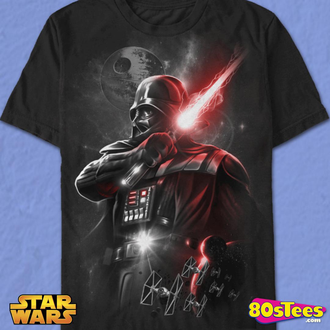 Star Wars Men/'s Galactic High Senior Class /'77 Black T-Shirt New