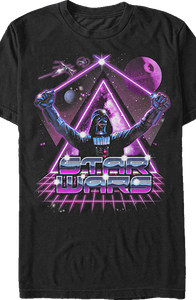 Crossed Light Sabers Star Wars Darth Vader T-Shirt