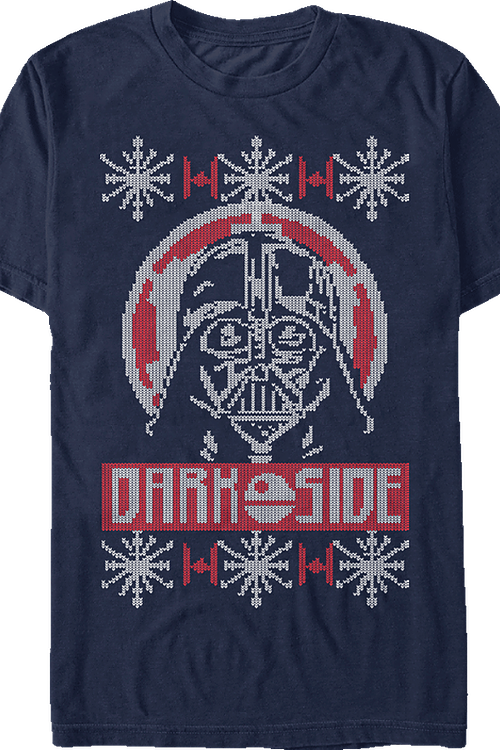Star Wars Darth Vader Christmas T-Shirt Knit Pattern