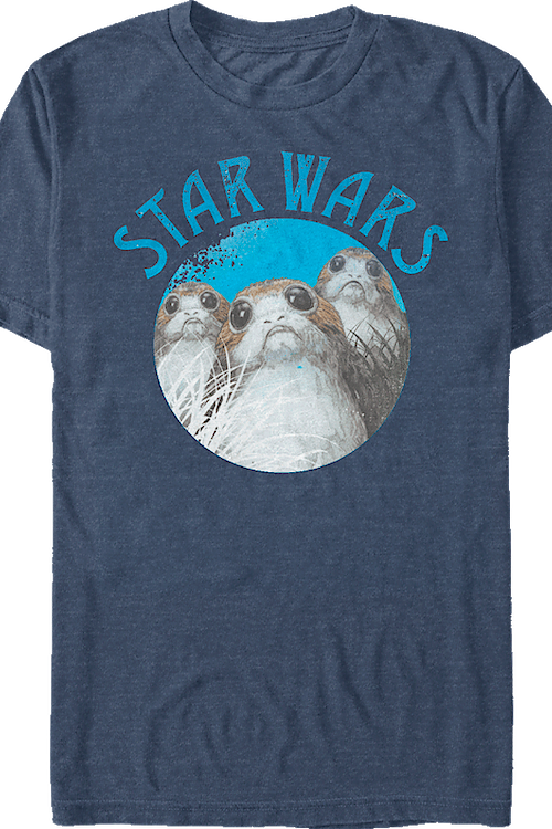 Porgs Star Wars The Last Jedi T-Shirt