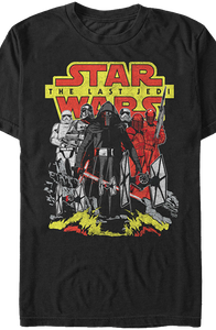 First Order Star Wars The Last Jedi T-Shirt