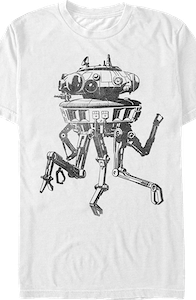 Star Wars Imperial Probe T-Shirt