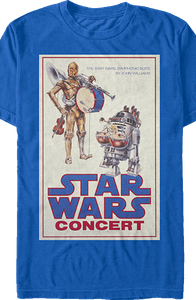 Star Wars Droid Concert T-Shirt