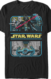 Death Star Trench Star Wars T-Shirt