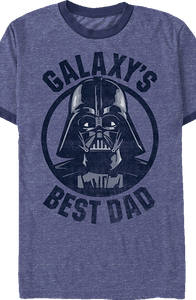 Darth Vader Galaxy's Best Dad Star Wars T-Shirt