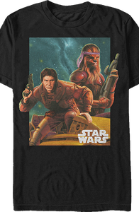 Han and Chewie Star Wars T-Shirt