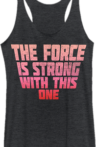 Ladies Force Is Strong Tank Top