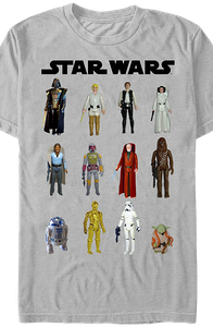 Star Wars Action Figures T-Shirt