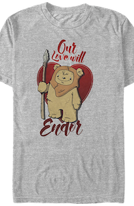 Our Love Will Endor Star Wars T-Shirt