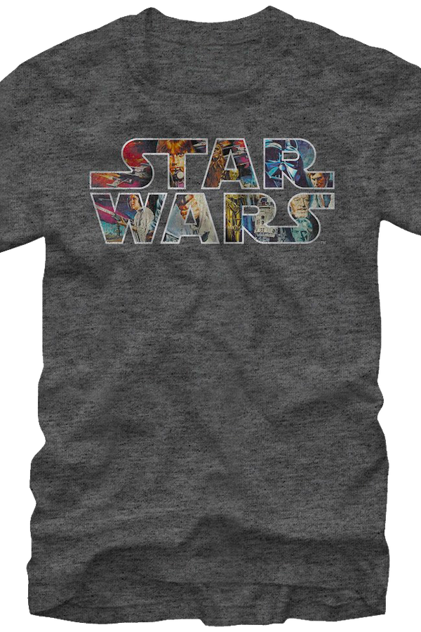 Episode IV Logo Star Wars T-Shirt