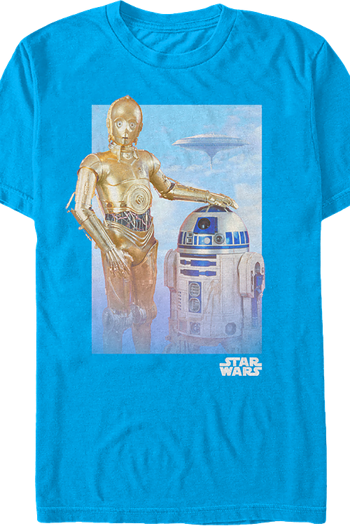 C-3PO and R2-D2 Star Wars T-Shirt