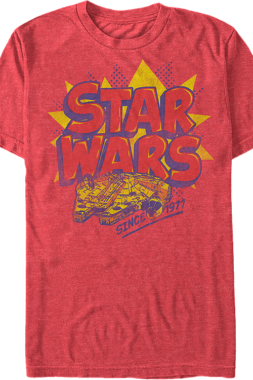 Millennium Falcon Since 1977 Star Wars T-Shirt