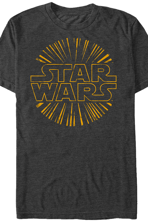 Explosive Star Wars Logo T-Shirt