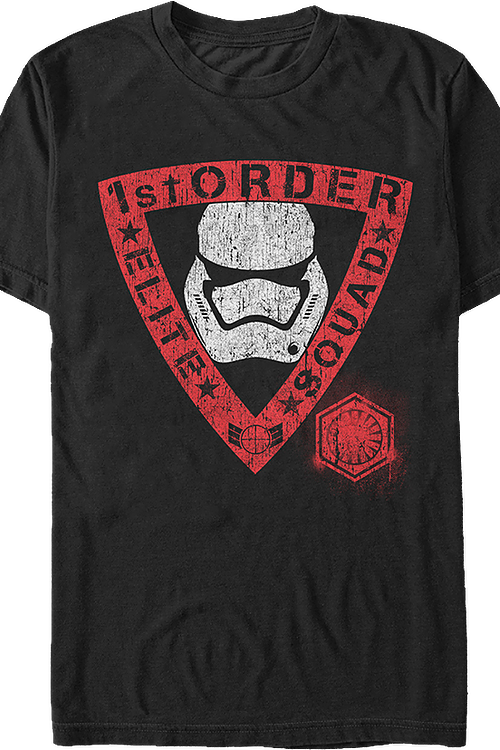 1st Order Elite Squad Star Wars T-Shirt