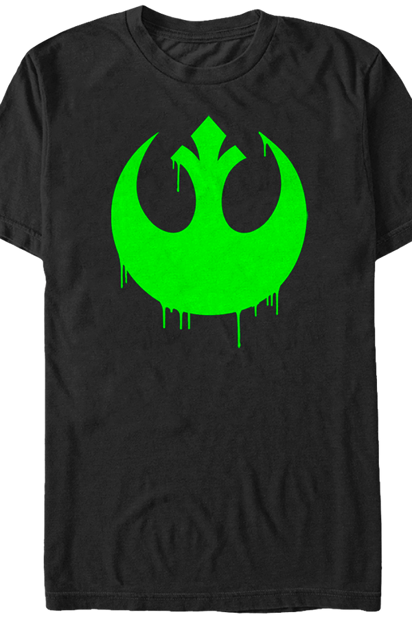 Graffiti Rebel Alliance Logo Star Wars T-Shirt